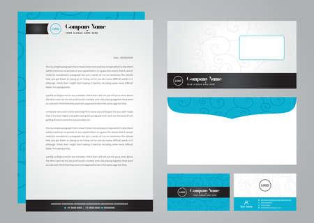 Illustration pour Business corporate card design - image libre de droit