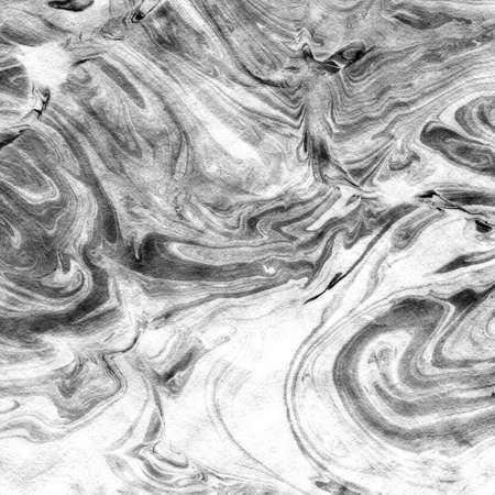Photo for Japanese paper of Paper marbling pattern - Royalty Free Image