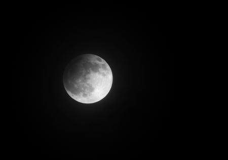 Partial Lunar eclipse on 25 April 2013 at 22 40 29, Bahrain