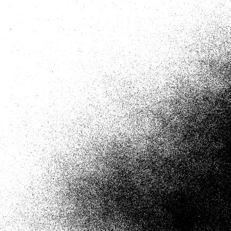 Ilustración de Spray paint decorative grunge realistic gradient texture - Imagen libre de derechos