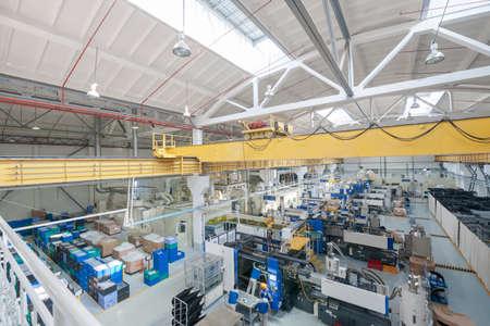 Photo pour Factory and industrial production plant for the manufacture of beverages - image libre de droit