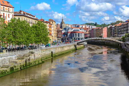 Foto de Old town of Bilbao, Basque Country, Spain - Imagen libre de derechos