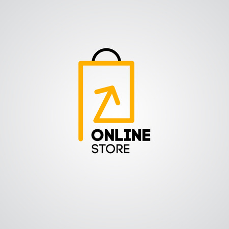 Ilustración de Online shop vector icon. For business. - Imagen libre de derechos
