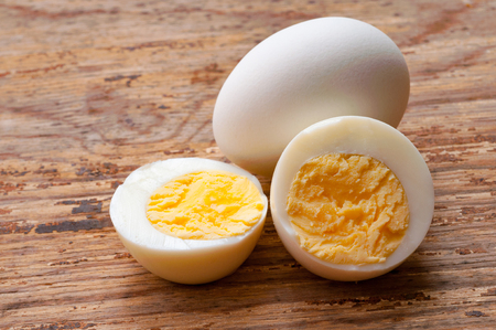 Photo for Hard-boiled egg - Royalty Free Image