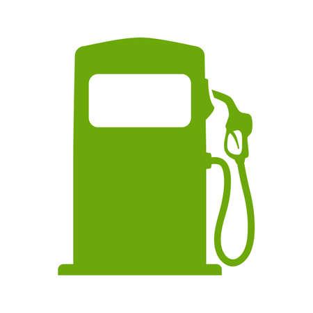 Illustration pour Green fuel pump illustration - image libre de droit