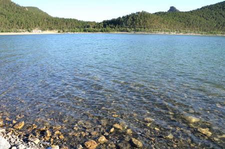 Photo for Lake Chebache, State National Natural Park Burabai, Kazakhstan - Royalty Free Image