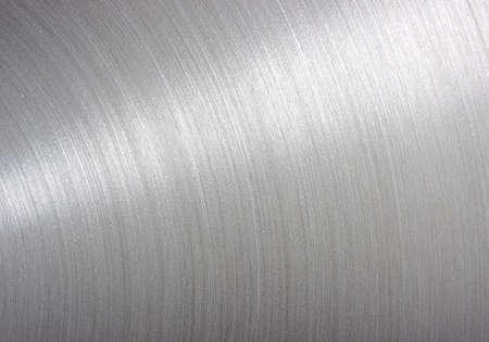 Foto de background brushed aluminum metallic plate - Metal texture  - Imagen libre de derechos