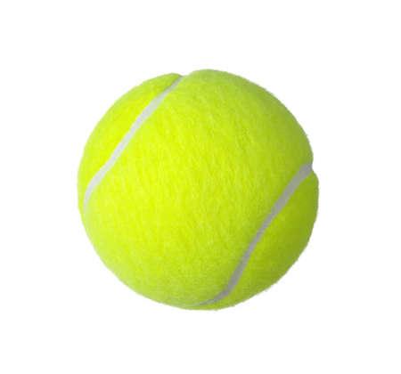 Photo pour tennis ball isolated on white background - image libre de droit