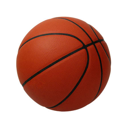 Photo for Basketball isolated on a white background - Royalty Free Image