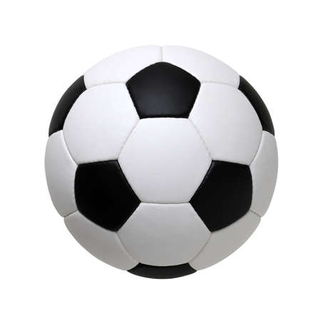 Foto de soccer ball isolated on white background - Imagen libre de derechos
