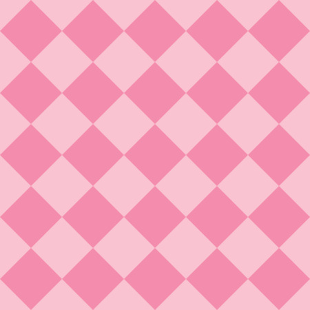 Illustration for Pastel pink fabric diamond seamless pattern background - Royalty Free Image