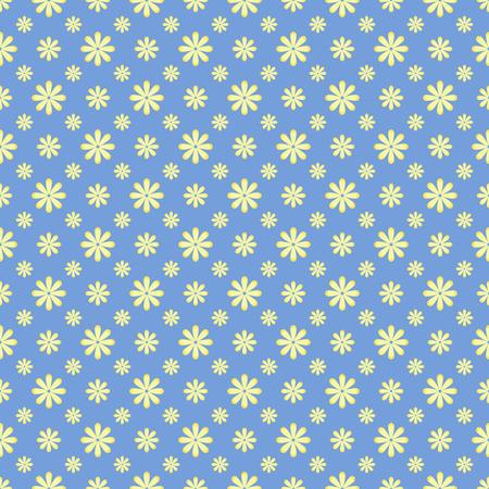 Illustration pour Cute Floral pattern in the small flower. Elegant background. - image libre de droit