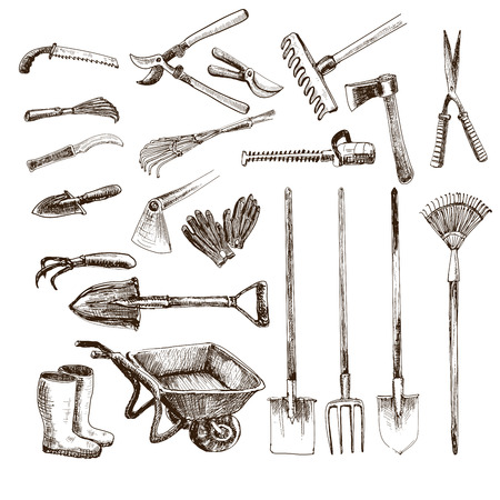 Illustration for Garden tools - Royalty Free Image