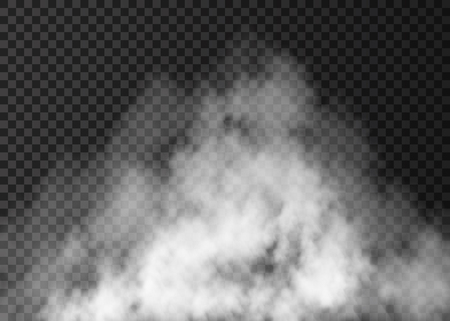 Illustration for White fog effect. - Royalty Free Image
