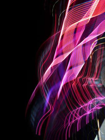 Foto de Incoming electromagnetic wave light - Imagen libre de derechos