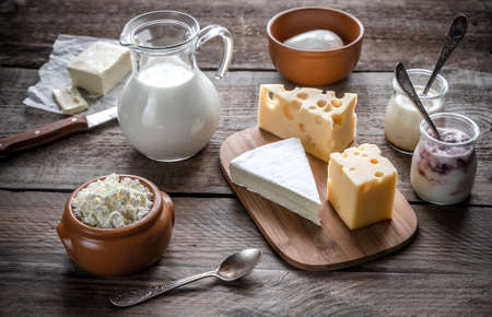 Photo for dairy products - Royalty Free Image