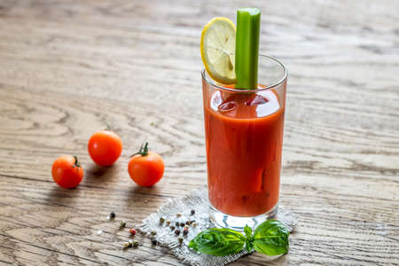 Photo for Bloody mary cocktail - Royalty Free Image