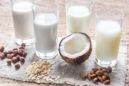 Photo pour Non dairy milk - image libre de droit