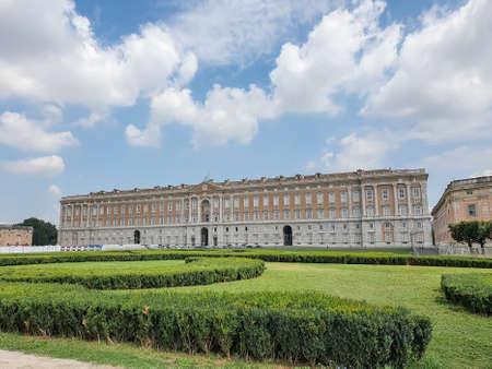 Foto de The Royal Palace of Caserta - former royal residence in Caserta of kings of Naples - Imagen libre de derechos