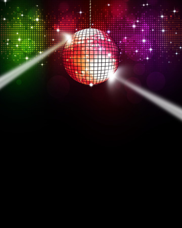 Photo for abstract multicolor music disco background for joyful events - Royalty Free Image