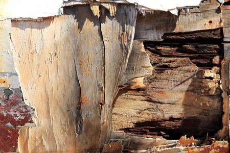Photo pour Wooden board hole. Macro closeup. - image libre de droit