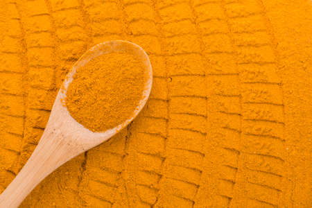 Photo for Turmeric powder - Royalty Free Image