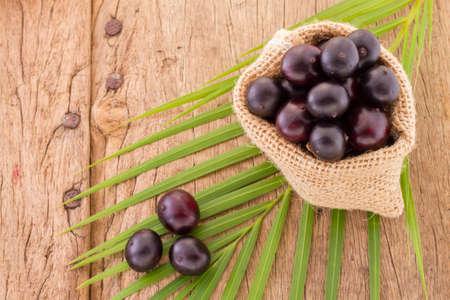 Foto de Acai fruit, fruit of Amazonian origin are attributed many medicinal properties - Imagen libre de derechos