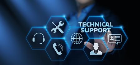 Foto für Technical Support Customer Service Business Technology Internet Concept. - Lizenzfreies Bild
