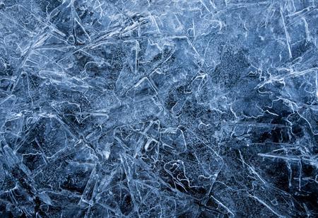 Foto de ice crystals texture - Imagen libre de derechos
