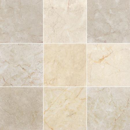 Photo pour Marble backgrounds, textures with natural pattern. Every image 4 MP, 2000 x 2000. - image libre de droit