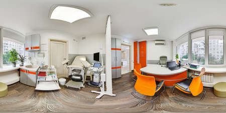 Photo pour 360 panorama of a medical institution - image libre de droit