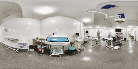 Foto de 360 panorama of a medical institution - Imagen libre de derechos