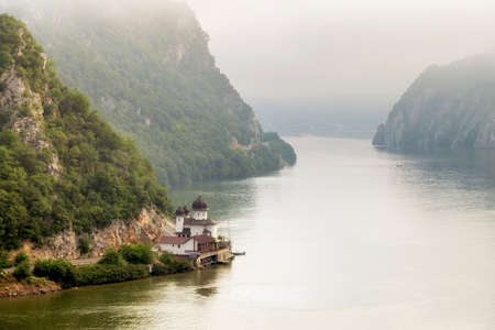 Photo for landscape in the Danube Gorges Cazanele Mari - Royalty Free Image