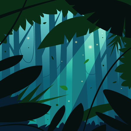 Illustration for The Jungle - Royalty Free Image