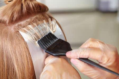 Foto de Hair salon. Coloring. - Imagen libre de derechos