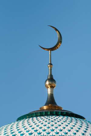 Foto de The Kul-Sharif Mosque in the Kazan Kremlin, Tatarstan republic - Imagen libre de derechos