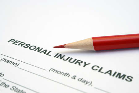Photo pour Personal injury claim - image libre de droit