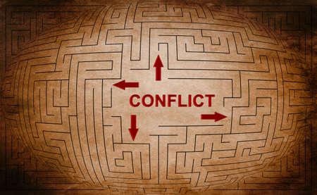 Foto de Conflict - Imagen libre de derechos
