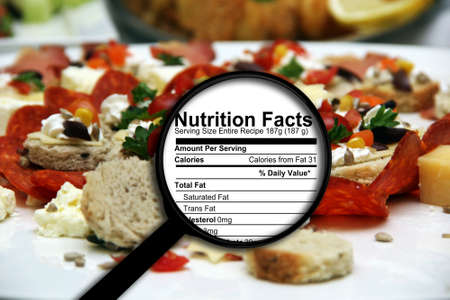Foto per Nutrition facts - Immagine Royalty Free