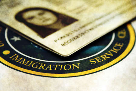 Photo pour Immigration - image libre de droit