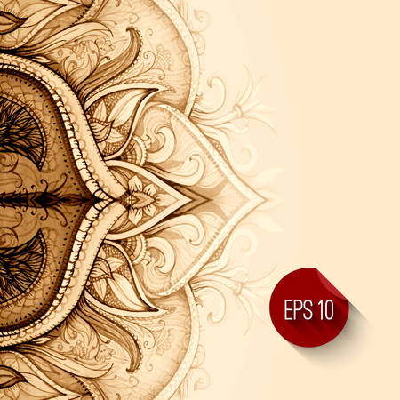 Illustration for Hand drawn abstract background.  - Royalty Free Image
