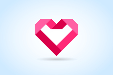Illustration pour Heart icons vector - image libre de droit