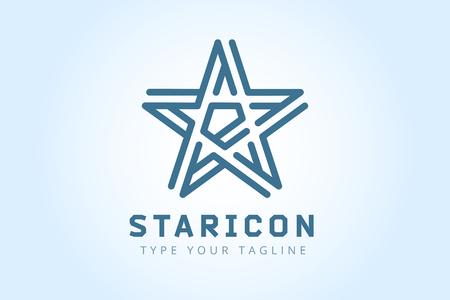 Illustration pour star icon - image libre de droit