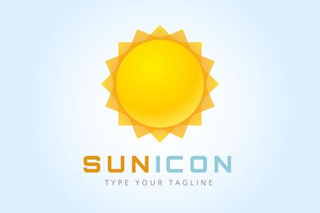 Illustration pour Sun burst star icon. - image libre de droit