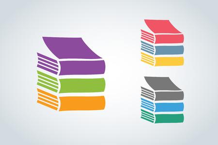 Illustration pour Books vector  - image libre de droit