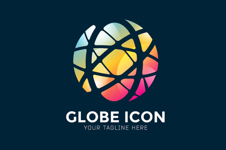 Illustration for Vector abstract earth globe  design.  - Royalty Free Image