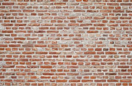 Foto de Red brick wall Background of old vintage brick wall - Imagen libre de derechos