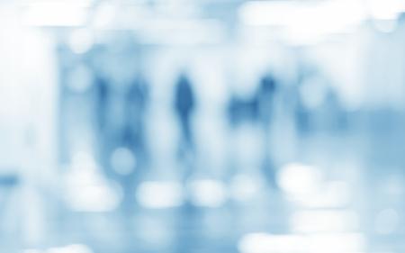 Foto de medical blue blurred background abstract contemporary - Imagen libre de derechos
