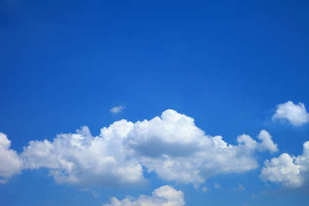Photo for blue sky clouds,Blue sky with clouds. - Royalty Free Image