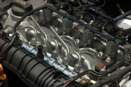 Photo pour ead diesel engine with common-rail - image libre de droit